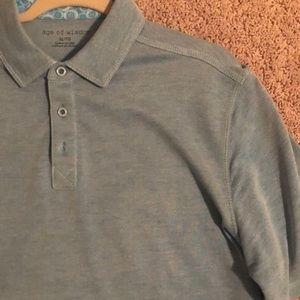 Men's Age of wisdom polo shirt